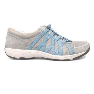 New! DANSKO grey honor sneaker 41